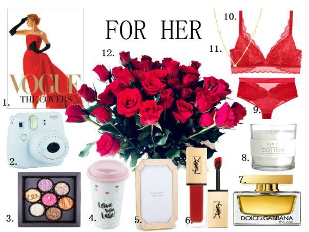 blog, fashionblog, valentine's day gift guide, walentynki co na prezent, gifts for her, prezenty dla niej, geschenke für sie