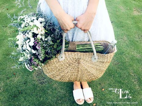 straw bag, fashion blog, spring fashion, picnic, picnic style, summer