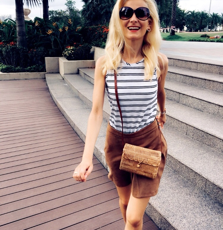 summer outfit, outfit, caramel skirt, svede skirt, summer look, boho look, dream about glow life,