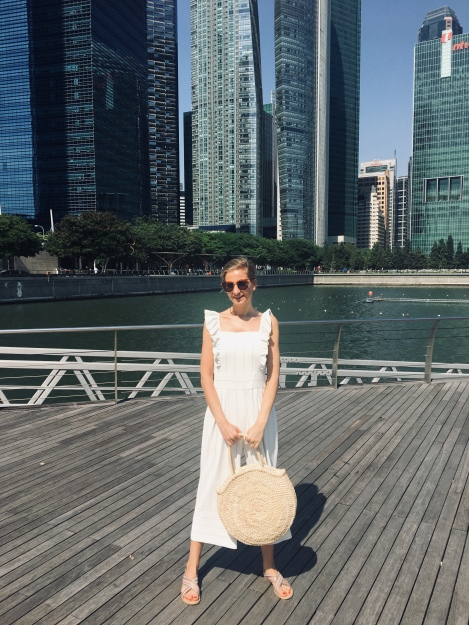 jumpsuits, fashion, summer outfit, outfit, straw bag, singapore,